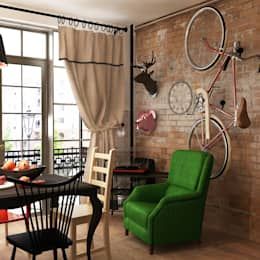 industrial Dining room by homify