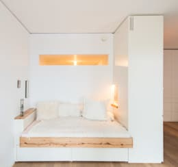 modern Bedroom by Holzgeschichten