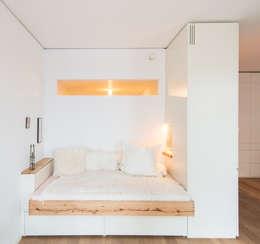 غرفة نوم تنفيذ Holzgeschichten