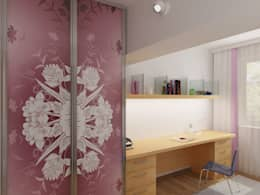 eclectic Nursery/kid's room by Дизайн студия Александра Скирды ВЕРСАЛЬПРОЕКТ