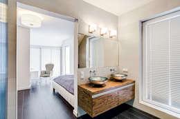 浴室 by DK architektura wnętrz