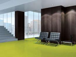 Paredes y pisos de estilo minimalista por PAVIMENTOS GERFLOR