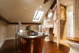 rustic Bathroom by A1 Lofts and Extensions