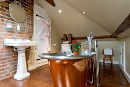 country Bathroom تنفيذ A1 Lofts and Extensions