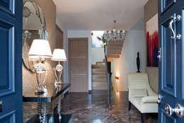 Projekty,  Korytarz, przedpokój zaprojektowane przez RBD Architecture & Interiors