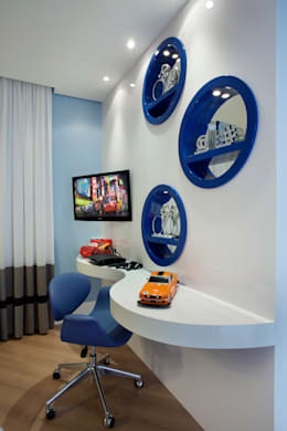 Cuartos infantiles de estilo moderno por Designer de Interiores e Paisagista Iara Kílaris