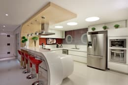moderne Küche von Designer de Interiores e Paisagista Iara Kílaris