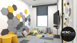 Chambre d'enfant de style de style Moderne par MONOstudio