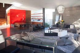 Comedores de estilo minimalista por Echauri Morales Arquitectos
