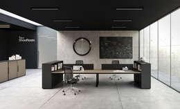 Ysk Dekorasyon – OFİS TASARIM TADİLAT VE DEKORASYON:  tarz Ofis Alanları & Mağazalar