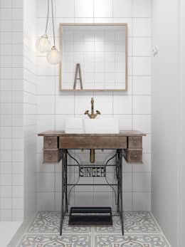 Interior MA2: Ванные комнаты в . Автор – INT2architecture