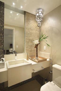 Cris Moura Arquitetura의  화장실