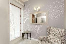 우아한 나무: angelkk의  벽 & 바닥