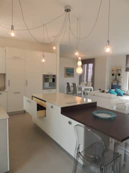 La cucina moderna: l\'isola