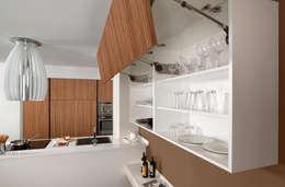 Cocinas de estilo moderno por Lebana