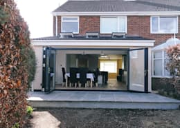 14 homes with brilliant bi-folding doors