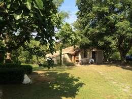 le cabanon: Jardin de style de stile Rural par INSIDE-DECO-TENDANCE