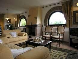 rustic Living room by Studio Tecnico MB architettura