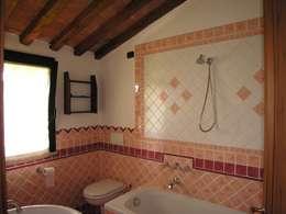rustic Bathroom by Studio Tecnico MB architettura