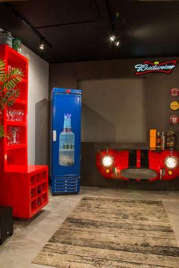 bar: Salas de estar modernas por Leticia Sá Arquitetos