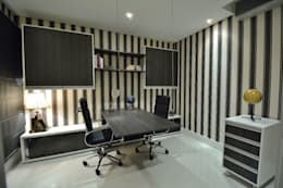 modern Study/office by Paulinho Peres Group