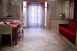غرفة المعيشة تنفيذ studio lenzi e associati