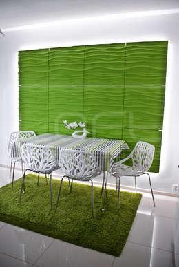 Wellen Schlagende Wände: Moderne Esszimmer Von Loft Design System  Deutschland