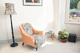 polly granville ltd: eklektik tarz tarz Oturma Odası