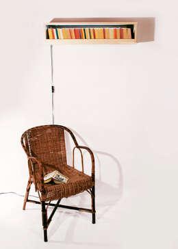 L'Illétrée: Bureau de style de style Minimaliste par Chloé Hueber