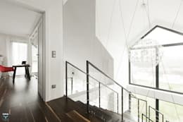 industrial Corridor, hallway & stairs by stabrawa.pl