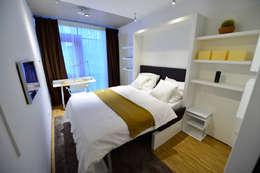 modern Bedroom by Radius Design