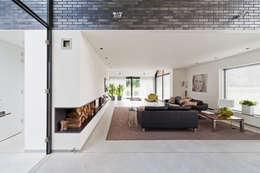 Living: moderne Woonkamer door Beltman Architecten