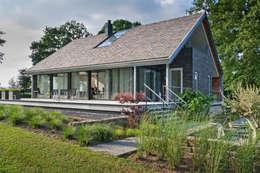 Terras: moderne Huizen door Beltman Architecten