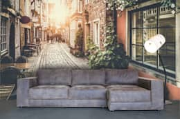 Réalisations diverses: Murs & Sols de style de style Classique par J'aime mon Mur