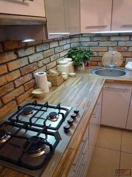 Cocinas de estilo rústico por ITA Poland s.c.