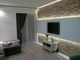 Salas / recibidores de estilo  por ITA Poland s.c.