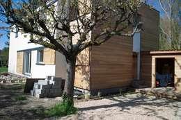 Entrée: Maisons de style de style Moderne par Architecture Landscape & Urban planning