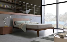 Spillo Bed: modern Bedroom by Campbell Watson