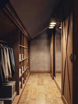 country Dressing room by HOMEFORM Студия интерьеров