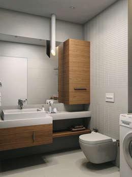 ЖК Еловый дом: Ванные комнаты в . Автор – HOMEFORM Студия интерьеров