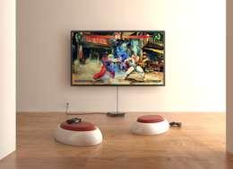 minimalistic Living room by Studio Saihol Yuen