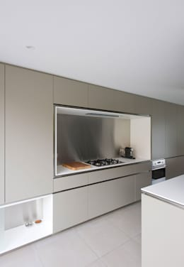 modern Kitchen by das - design en architectuur studio bvba