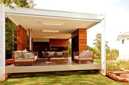 CASA HAACK: Casas modernas por 4D Arquitetura