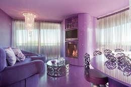 eclectic Living room by STUDIO CERON & CERON