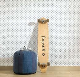 Papiers peints: Murs & Sols de style de style Moderne par Kalico