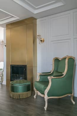 PS MİMARLIK – NEWTOUCH: klasik tarz tarz Oturma Odası