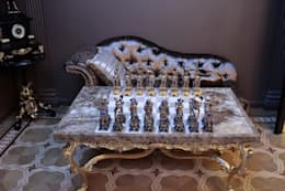 Античная эклектика: Гостиная в . Автор – blackcat design
