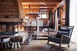 Шале: Столовые комнаты в . Автор – Архитектор Татьяна Стащук