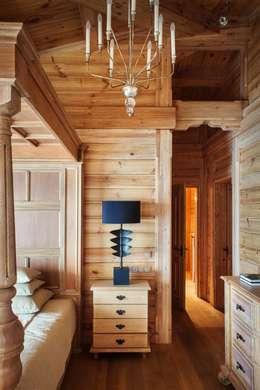 Chambre de style de style Rustique par Архитектор Татьяна Стащук