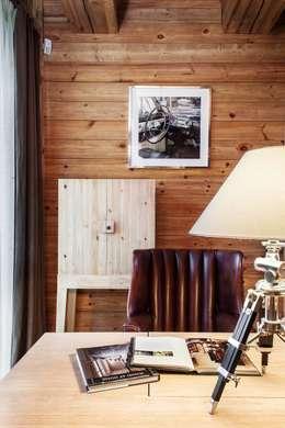 Projekty,  Domowe biuro i gabinet zaprojektowane przez Архитектор Татьяна Стащук